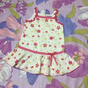 EUC Youngland  flowered toddler dress